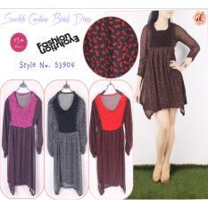 Beli Oma Fashion Belvyah Visolela Adsila Dress 4 Warna Size M Pakai Kartu Kredit