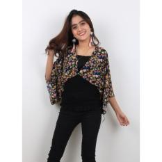 Spesifikasi Oma Fashion Desdona Casual Blouse Short Sleeve 3 Warna Size M Paling Bagus