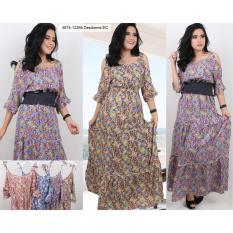 Toko Oma Fashion Fabienne Maksi Dress 4 Warna Size L Yang Bisa Kredit