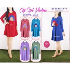 Oma Fashion Karelle Mini Dress Doll Casual - 4 Warna - Size M