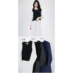 Harga Oma Fashion Lauren Maksi Dress Polkadot 3 Warna Size M Seken