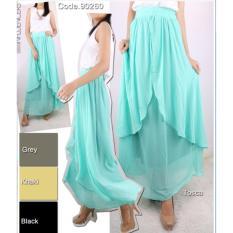 Review Oma Fashion Shirley Rok Layer Kombi Hayget 4 Warna Size L Xl Di Indonesia