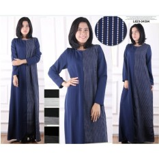 Jual Beli Oma Holley Fashion Galliana Maksi Dress Long Sleeve 4 Warna Size L Di Indonesia