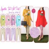 Jual Oma Holley Fashion Marsya Sepasang Blouse Celana Panjang 6 Warna Size M Import