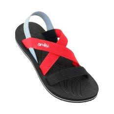 Omiles Celline Sandal Wanita - Hitam