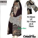Onanta Kulot Motif Corak Batik Stretch Cotton Celana Wanita Celana Panjang Katun Diskon Akhir Tahun