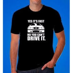 Iklan One Tshirt Kaos Bmw Can T Drive It Hitam