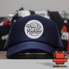 Spesifikasi One Tshirt Topi Trucker Deus Biru Dongker Online