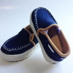 Onemarkets baby shoes/ sepatu sandal anak kecil cowok B05 - Navy