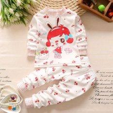 Harga Onemarkets Piyama Bayi Baju Tidur Bayi Korean Style Motif Punny G*rl Merk Onemarkets
