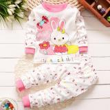 Jual Onemarkets Piyama Bayi Baju Tidur Bayi Korean Style Motif Rabbit Pink Online
