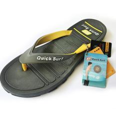 Onemarkets Sandal Jepit Pria Sandal Casual Cowok Q2ZY - Grey Yellow