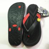 Toko Onemarkets Sandal Jepit Pria Sandal Casual Cowok T Hitam Yellow Terdekat