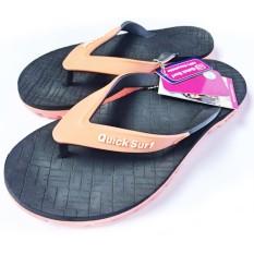 Cara Beli Onemarkets Sandal Jepit Wanita Sandal Casual Cewek Wo Hitam