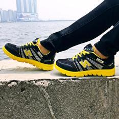 Diskon Besaronemarkets Sepatu Olahraga Cewek Sepatu Lari Wanita Yellow