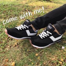 Onemarkets Sepatu Olahraga Sepatu Lari Cewek L Hitam Promo Beli 1 Gratis 1