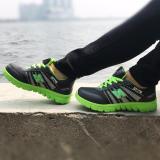 Model Onemarkets Sepatu Olahraga Wanita Hijau Terbaru