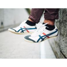 Jual Onitsuka Tiger Mexico 66 Tiger White Navy Red Branded Murah
