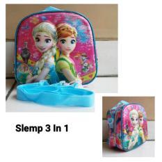 Harga Onlan Disney Frozen 5D Timbul Hologram Lunch Bag Tas Bahu Selempang Online