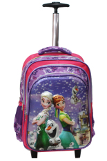 Situs Review Onlan Disney Frozen Fever 5D Timbul Glow Trolley Gagang Stainless Steel Anti Karat 4 Resleting Rainbow Import Purple