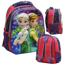 Review Terbaik Onlan Disney Frozen Fever 5D Timbul Hologram Tas Ransel Tk New Arrival Import Pink