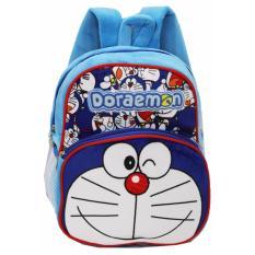 Review Onlan Doraemon Tas Ransel Anak Play Group Bahan Yelvo Lembut Biru
