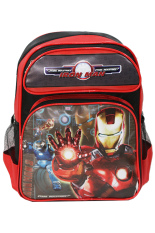Jual Onlan Marvel Iron Man Tas Ransel Anak Sekolah Ukuran Besar Sd Merah Hitam Baru