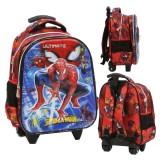 Diskon Onlan Marvel Spiderman 6D Timbul Anti Gores Tas Anak Sekolah Tk New Arrival Import Merah Akhir Tahun