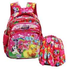 Onlan My Little Pony 6D Timbul Tas Ransel Tk Pg Import Pink Onlan Diskon