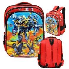 Beli Onlan Transformers 5D Timbul Glow Tas Ransel Ukuran Sd Import Merah Online Dki Jakarta
