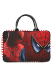 Jual Onlan Travel Bag Marvel Spiderman Bahan Kanvas Halus Merah Branded Original