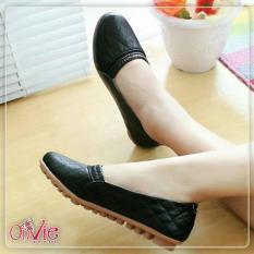 Onvie Sepatu Wanita Flat Shoes Formal Kerja  Kuliah  Sekolah