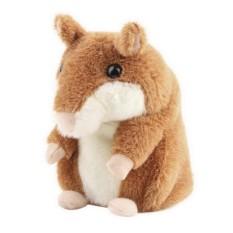 Ooplm Premium Mimicry Berbicara Hamster Mainan, mengulangi Apa Yang Anda Katakan dan Rekaman Elektronik Mewah Buddy Mouse untuk Bayi dan Anak-anak Hadiah Ulang Tahun Hadiah Natal-Internasional