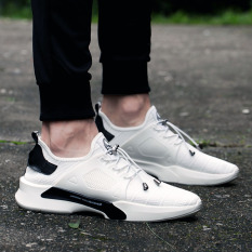 Tips Beli Orang Malas Musim Gugur Pria Kanvas Sepatu 8712 Putih Sepatu Pria Sepatu Sneakers Sepatu Sport Sepatu Casual Pria Yang Bagus