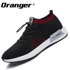 Oranger New Arrivial Men Running Shoes Spring Winter High Socks Shoes Slip on Breathable Shoes Slip On - intl