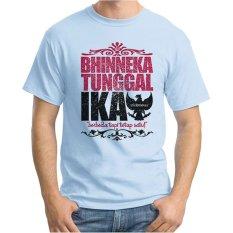 Ordinal T-Shirt One Indonesia 10 - Biru Terang
