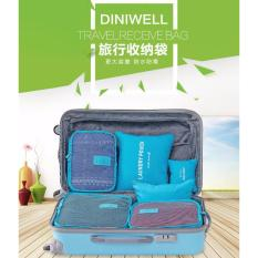 Organizer Travelling Bags IMPORT Six In one BLUE