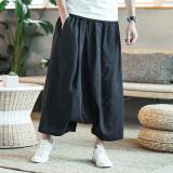 Harga Angin Cina Celana Pakaian Pria Yard Besar Celana Baggy Pria Hitam Merk Oem