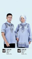 Original Azzurra  Jual Baju Koko Muslim Couple Pria 335-34  Warna : Abu  Terbuat dari Bahan : Kelly