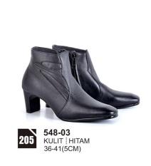 Original Azzurra  Jual Sepatu Formal / Kerja / Pesta Wanita 548-03  Warna : Hitam  Terbuat dari Bahan : kulit
