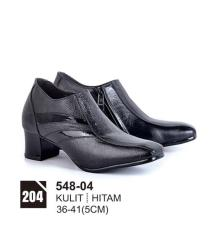 Original Azzurra  Jual Sepatu Formal / Kerja / Pesta Wanita 548-04  Warna : Hitam  Terbuat dari Bahan : Kulit