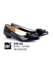 Original Azzurra  Jual Sepatu Formal / Kerja / Pesta Wanita 548-08  Warna : Hitam  Terbuat dari Bahan : synt