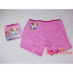 Original Disney Boxer Anak - Princess (Pink)