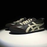 Asli Genuine Leather Classic Asc Onitsuka Tig Mexico 66 Fashion Sneakers Hitam Putih Pria Onitsuka Tigers Pemuda Kasual Sepatu Lari Intl Oem Diskon
