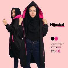 Original Jaket Wanita Hijaber Kerudung Gamis Distro All Size Fit To (L)