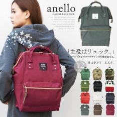 Original Japan Anello Backpack Best Seller Tas Ransel - Siqkds