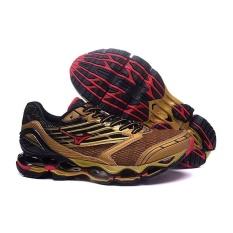 Asli MIZUNO Laki-laki WAVE PROPHECY 5 Menjalankan Sepatu Modis Olahraga Bernapas Sepatu Kasual Pria-Internasional