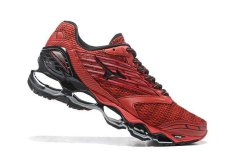 Asli MIZUNO Men's Wave Nubuat 5 Menjalankan Sepatu Merah Mizuno 5 Fashion Kets Classic Olahraga dan Berjalan Bernapas Kasual Sepatu-Intl