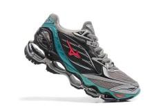 Original Mizuno Running Women's MIZUNO WAVE Nubuat 6 Running Sepatu Baru Fashion Sneakers Breathable Grey Mizuno 6 Sepatu Kasual -Intl