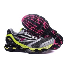 Asli Mizuno Wanita WAVE PROPHECY 5 Menjalankan Sepatu Modis Olahraga Bernapas Sepatu Kasual Pria-Internasional